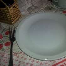 Plato Playo Porcelana Tsuji Gastronomico Hogar Bar Cs