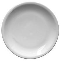 6 Platos Playos Porcelana 24 Cm Gastronomico Hogar Bar