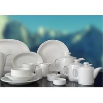 Set 12 Platos Playos 25 Cm Porcelana Tsuji Línea 450 Promo!!