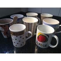 Lote Tazas Ceramica - Usadas - Perfecto Estado