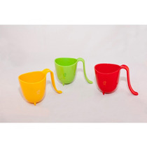 90 Tazas De Plastico Con Asa Varios Colores Shop Eleven