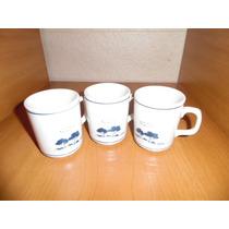 Tazas Porcelana Dresden Jarritos Mugs X 3