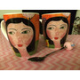 Taza Mug Porcelana Deco Pintura - Casa Mumina