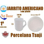 Jarrito Americano Tsuji Recta Blanca Cafe Jarro Dolce Gusto