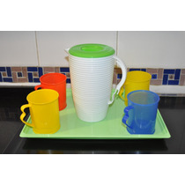 Jarro Plástico Mug X6, X12 Y X20 Unidades