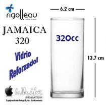 Vaso Jamaica 320 Cc Trago Largo Vidrio Rigolleau