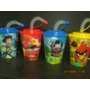 10 Vasos 3d 400cc.mickey Barbie Frozen Princesas Kitty Spide