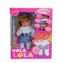 Muñeca Hola Lola Interactua Con El Celular Original Cariñito