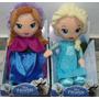 Muñecas Frozen Elsa Y Anna Original Disney 30cm Wabro Promo