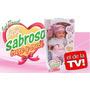 Muñeca Bebe Sabroso Come, Crece Y Crece ,es El De Tv !!