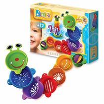 Juguete Bebe Bimbi Gusano Apilable 2 En 1 Baby Shopping