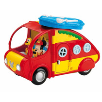 Camper O Caravana Mickey Mouse De Fisher Price Kidplay