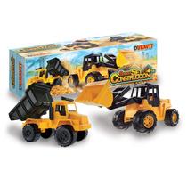 Camion Gigante Constructor 2 Volcador Excavadora Duravit 205