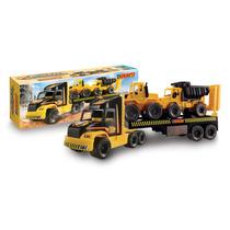 Camion Constructor 3 Transporte Volcador Tractor Duravit 218