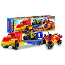Camion Gigante Transporte Con Cuatriciclos Duravit 229
