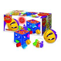 Set Didactico (cubo, Sonajero, Llaves) 673 Duravit