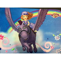 Alfombra Infantil Rectangular Dormitorio Princesa Sofia Arco