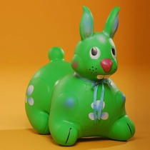Saltarines Inflables Conejo Originales Dinosaurio Caballo