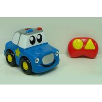 Auto Control Remoto Niños Luces Sonidos Policia Zippy Toys