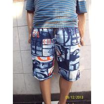 Shorts Bermudas De Baño Excelente Calidad Talle Del 56 Al 70