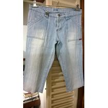 Bermuda Jeans Pescador Vov Talle M-todas Las Medidas Abajo
