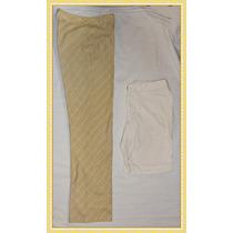 Sail Original Lote 1 Pantalon Vestir + 1 Bermuda A Solo $70