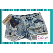 Short Tucci Batik Con Roturas-originales