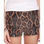 Shorts De Leopardo