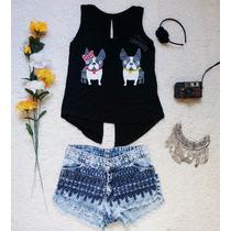 Short Jean, Crochet, Elastizados, Roturas Modelos Varios