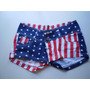 Short Jean Bandera Estados Unidos Usa