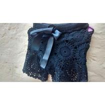 Short Tejido Al Crochet