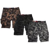 Bermudas Shorts Camufladas Importadas - Jeans710