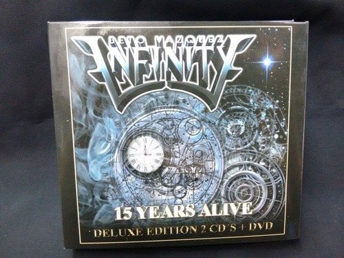 Beto Vazquez Infinity- 15 Years Alive - 2cd´s + Dvd