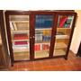 Antigua Biblioteca De 3 Puertas Tipo Consola C/llaves