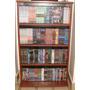 Biblioteca 5 Estantes Porta Cd Dvd Blu Ray Ps Wii 312 Unid!