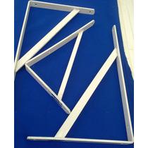 Soporte Estante Reforz Jgo De 3 (2 De 39x2cm Y 1 De 30x18cm)