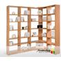 Bibliotecas Rinconera Solución Para Tus Espacios $4690.-