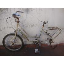 Antiguo Cuadro Bici Olmo Rodado 20 Para Restaurar