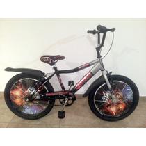 Bicicleta Para Nene R20 Bmx/cross Galaxia Necchi
