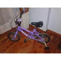 Bicicleta Barbie Para Nena Rodado12