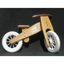Bicicleta De Madera Baika Sin Pedales Rodado 12 Día Del Niño