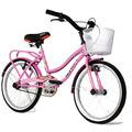 Bicicleta Halley Playera Dama Mujer Nena Rodado 20 19333