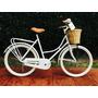 Bicicleta Retro Vintage Inglesa Sport Mujer R26