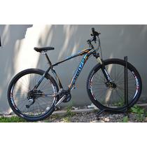Bicicleta Venzo Amphion R27.5 - 24 Vel Discos Mecánicos