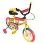 Bicicleta Bmx Varon - Dama Rod 12 Ruedas Macizas Green Sport
