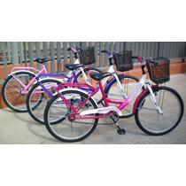 Bicicleta Rodado 24 Paseo Dama
