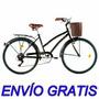 Bicicleta De Paseo Dama Full Olmo Amelie Traveller Rod26 6v