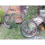 Bicicleta Tipo Inglesa Doble Caño Rodado 26 Restaurada