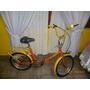 Bicicleta Plegable Rodado 20 Restaurada A Nuevo
