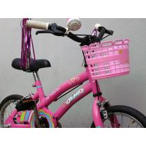 Bicicleta Niña Olmo Winona Rodado 12 Garantia Envios